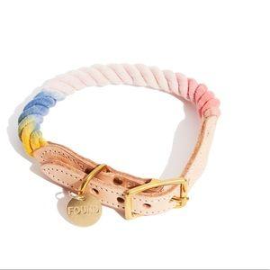 found my animal Henri rope pet collar size M